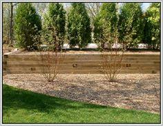 How To Build A Timber Retaining Wall To Build A Timber Supporting - Timber retaining wall design