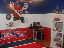 chambre canadien de montreal décoration chambre hockey canadien