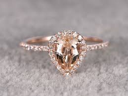 morganite pear engagement ring 25 beautiful morganite engagement ring inspirations gold