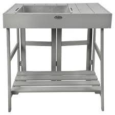 Outdoor Potting Bench With Sink Smith Hawken Potting Bench Target