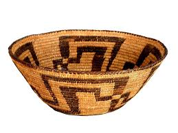 early native american indian basket