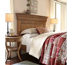 Pottery Barn Platform Bed Magnificent Pottery Barn Headboard Fallon Upholstered Headboard