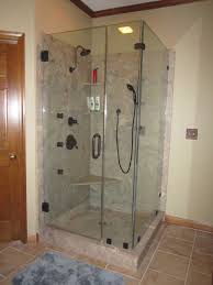 shower stall size