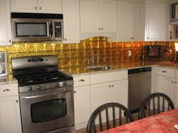 Tin Backsplash For Kitchen Picture  Decor Trends  Using Tin - Tin backsplash