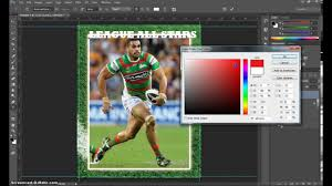 make a trading card in adobe photoshop part 1 youtube