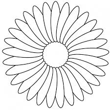 daisy coloring page coloring pages teens 36 cool flower coloring pages uncategorized