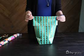 how to store wrapping paper and gift bags how to make a gift bag from wrapping paper designertrapped