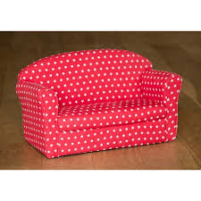 children u0027s red startwo seater sofa