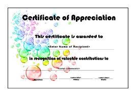 certificate templates bubbles