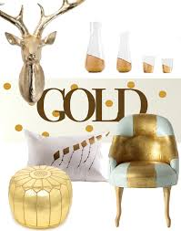 metallic home decor metallic mania decorating with gold silver and copper the