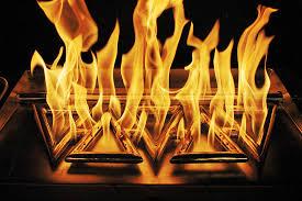 Custom Gas Fire Pits - custom gas pipes and fireplace burners diamond fire glass