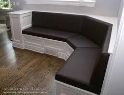 banquette corner bench seat bench decoration