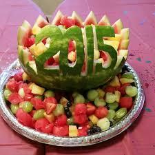 graduation fruit arrangements fruit basket watermelon for graduation this season food