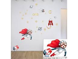stickers chambre d enfant sticker chambre d enfant l espace