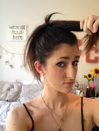 sock bun hair how to do a sock bun without a sock your foolproof guide gurl