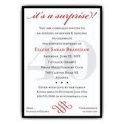 surprise birthday party invitations surprise birthday party