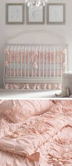 light pink crib bedding 95 best nursery images on pinterest child room pregnancy and baby