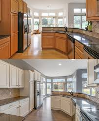 how to paint golden oak kitchen cabinets bye bye golden oak cabinets cabinet painting cabinets