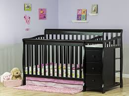 Convertable Crib by Dream On Me 5 In 1 Brody Convertible Crib With Changer Natural