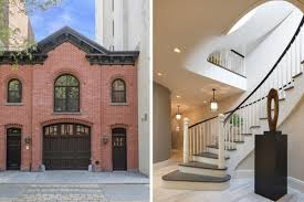 restored brooklyn heights carriage house asks 10m curbed ny