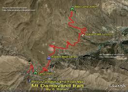 Maps Route Damavand Maps Damawand De