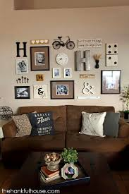 Wall Decor For Living Room Best 25 Family Picture Walls Ideas On Pinterest Picture Walls