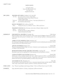 Harvard Resume Template Resume Law Enforcement Resumes Examples Sample Legal Assistant