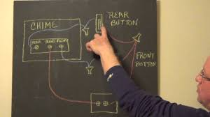 friedland transformer wiring diagram for single button double