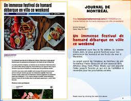 article de cuisine montreal in the lobster clam jam
