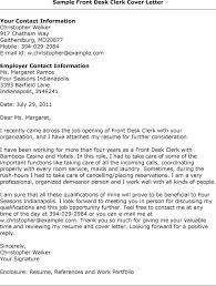 cover letter example for receptionist job