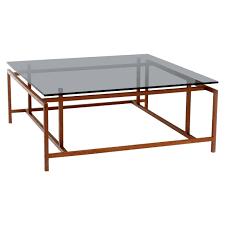 danish modern large komfort coffee table by henning norgaard at