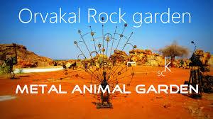 Rock Garden Restaurant Metal Animal Garden At Orvakal Rock Garden Kurnool Andhra