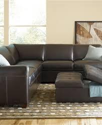 Martino Leather Sectional Sofa Macy U0027s Living Room Furniture Martino Leather Sectional Living Room