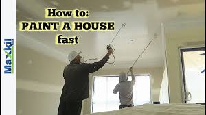 Paint A House by How To Paint A House Fast Youtube