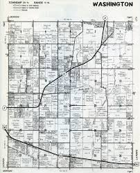 County Map Washington by Porter County Indiana Genweb Washington Township Maps