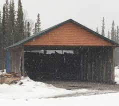 Pole Barn by Pole Barn Carport In Alaska Great Northern Sheds