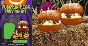 Pumpkin Carving Kits Pumpkin Pegs Carving Kit Halloween