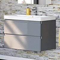 Grey Vanity Unit Amazon Co Uk Grey Wash Stands U0026 Vanity Units Bathroom