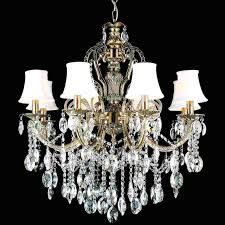 Chandelier Antique Brass Crystal Lamp Shades For Chandeliers With Brizzo Lighting Stores 30