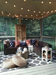 Exterior Unbelievable Design Balcony Lighting by Nine Ways To Transform Your Porch Into A Bohemian Escape Porch
