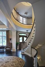 Circular Stairs Design Curved Stairs Staircase Mediterranean With Curving Staircase Stair