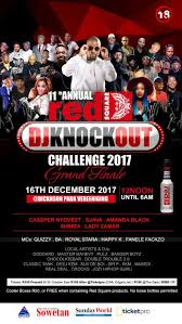 Challenge Knockout Redsquare Dj Knockout Challenge 2017 Grand Finale At Dickenson