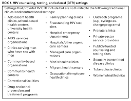 Difference Between Counselling Skills And Techniques Revised Guidelines For Hiv Counseling Testing And Referral