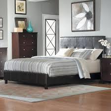 homelegance avelar casual queen upholstered headboard and