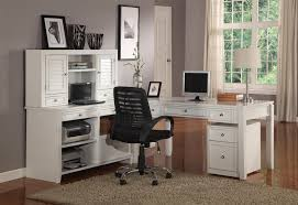 White L Shape Desk House Boca Five U Shaped Desk With 5 Drawers