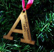 personalised child u0027s first christmas tree decoration wooden