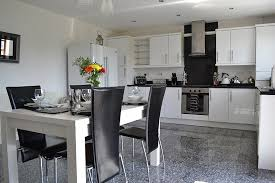 kitchen mod large contemporary kitchen with all mod cons picture of llannerch