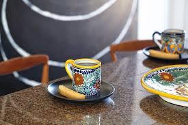 coffee cups mexican talavera pottery cups u0026 coffee mugs rustica gift