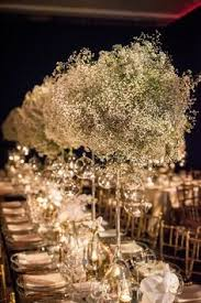 baby breath centerpieces winter wedding decor white and blue baby s breath the bell