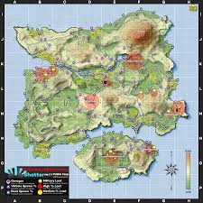 Mad Max Map Playerunknown U0027s Battlegrounds Maps U0026 Loot Maps Pictures Images